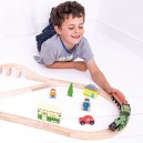Bigjigs Rail Heritage Collection Flying Scotsman Train Set