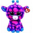 TY–Beanie Boos Sky, Giraffe, 40cm, Pink (United Labels Iberian 37058ty)