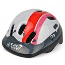 Little Guppy Infant Cycle Helmet, Red/Pink/White