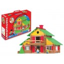 Jeujura JeujuraJ8005 Wooden Construction Chalet in a Suitcase (240