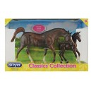 Breyer Model Horses Classic Chestnut Arabian Horse and Foal