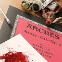ARCHES 23 x 31 cm Cold Pressed Oil Pads (Pack of 12 Sheets)