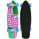Osprey Unisex Text Single Kick Tail Complete Cruiser Skateboard