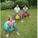 Garden Games Hoppin Mad Space Hopper Racing Game, Trio Pack, 24 Inch Adult Sized Hoppers
