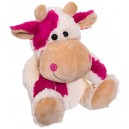 Bieco 04013212 Milly Cow Plush Toy, 30 cm, Pink/White