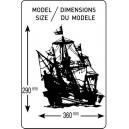Heller 80829Model Kit Golden Hind