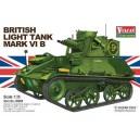 Vulcan Scale Models 56008Model Kit British Light Tank Mk. VI B