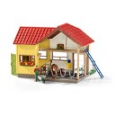 Farm Life 42334 Barn with Animals and Accessories Figurine
