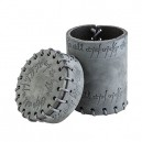 Qworkshop QworkshopCELV111  Suede Elvish  Dice Cup