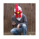 Thumbs Up MRROOSTER Mouth Moving Mr Rooster Mask, One Size