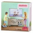 LUNDBY Stockholm Stereo Sideboard TV Playset