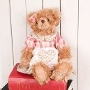 Jany Floral Super Soft Cuddy Bear Soft Toy 36cm