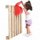 Garden Games Childrens Post Box for Use On Climbing Frames or Play Houses (Red)