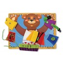 Melissa & Doug Basic Skills Board and Puzzle