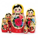 Russian Matryoshka Nesting Dolls (7 pieces) Design/color may vary.