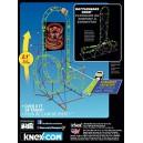 K'Nex 12451 Cobras Coil Roller Coaster Building Set