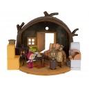 masha  Bear House Masha and The Bear  Playset (Multi