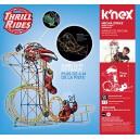 K'Nex 18515 Mecha Strike Roller Coaster Building Set