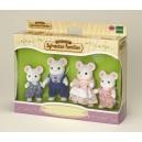 Sylvanian 4121 Families Mouse Family (White)