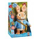 Peter Rabbit PO1438 Talking and Hopping Peter Rabbit Plush Toy
