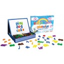 Junior Learning Rainbow Phonics Magnetic Letters and Built