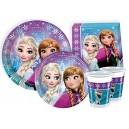 Ciao Y2499 Disney Frozen Party Tableware for 24 People (112 Pieces