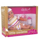 Dolls World 8140 Talking Little Sweetie Doll