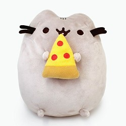 GUND 4058937 Pusheen Pizza Soft Toy