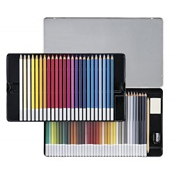 STABILO CarbOthello Metal Box of 60 colours