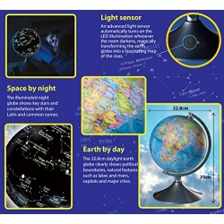 Brainstorm Toys 2 in 1 Globe Earth and Constellations