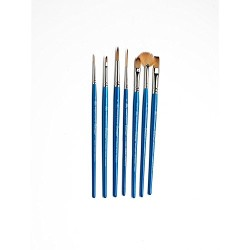 Winsor & Newton Cotman Brush Short Handle (Pack of 7)