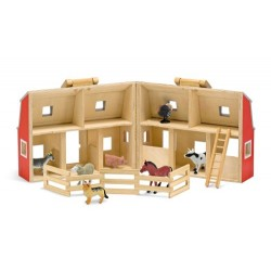 Fold & Go Mini Wooden Barn