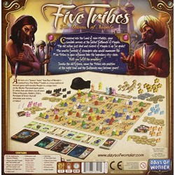 Five Tribes the Djinns of Naqala Board Game