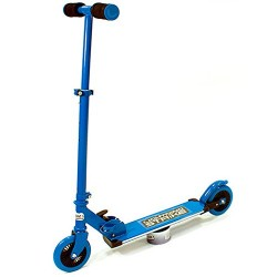 OZBOZZ SV12711 Blue Lightning Strike Scooter with Motion Activated Lights