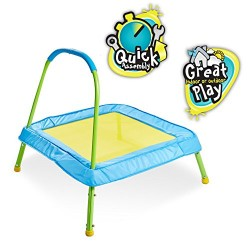 Kid Active Easy Assembly Childrens Junior Indoor Outdoor Trampoline