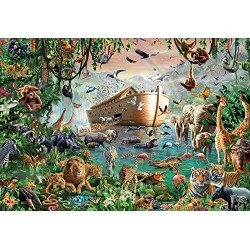 Jumbo Jumbo Premium Puzzle Collection 'Noah's Arc' 3,000 Piece Jigsaw Puzzle