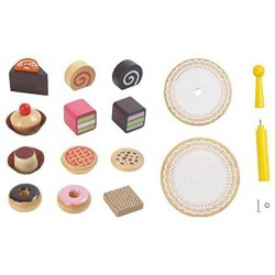Voila Wooden Pretend & Play Voila Wooden Cake Stand