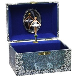 Trousselier Ballet Dancer Music Box