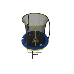 Zero Gravity Kids Ultima 4 High Spec Trampoline with Safety Enclosure Netting and Ladder