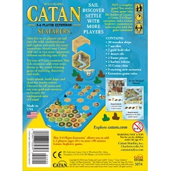 Catan Seafarers 5 and 6 Player Extension