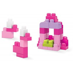 Mega Bloks DCH62 Big Building Bag, Pink