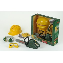 Bosch Set with Chainsaw, Helmet, Earmuff