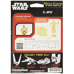Metal Earth Star Wars C