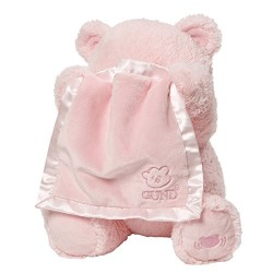 GUND Baby 4059954 Baby GUND My First Teddy Peek A Boo Pink Soft Toy