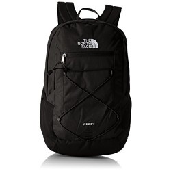 The North Face Rodey Unisex Outdoor Backpack available in Tnf Black Emboss/Tnf Black