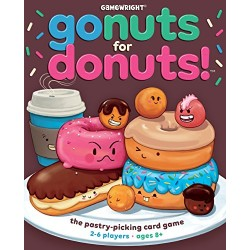 Gamewright Go Nuts for Donuts Game