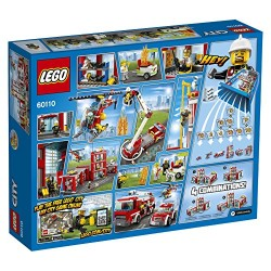 LEGO 60110 City Fire Station Building Toy