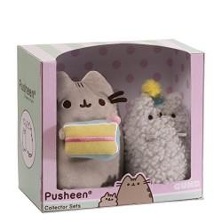 GUND 4059126 Pusheen Birthday Set Soft Toy