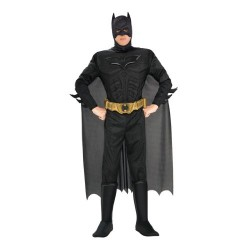 Dark Knight Rises Costume, Mens Batman Muscle Costume Style 2, Large, CHEST 42