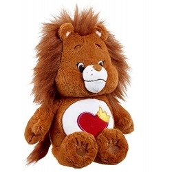 Care Bears 14665 Brave Heart Lion Plush Toy With DVD (Medium)